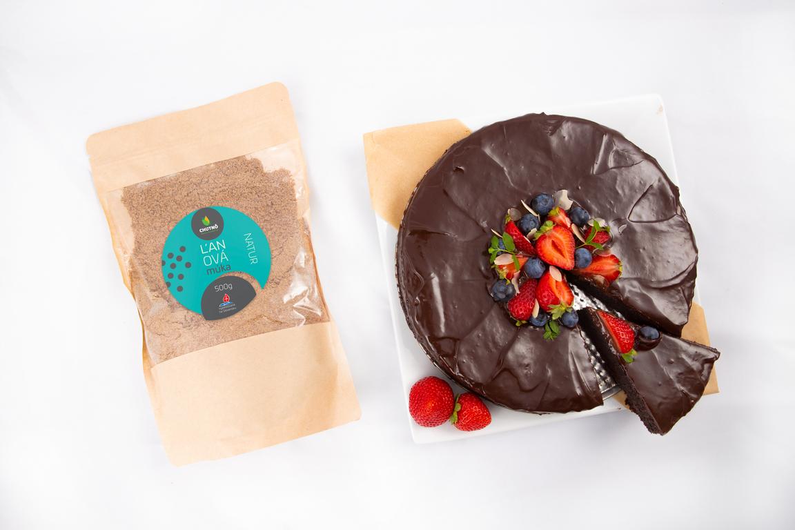 Čokoládovo-cuketová (jablková) torta